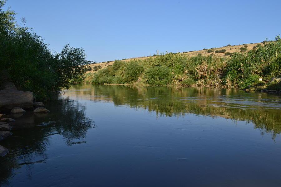 Landscape Photograph - River Jordan by Atul Daimari