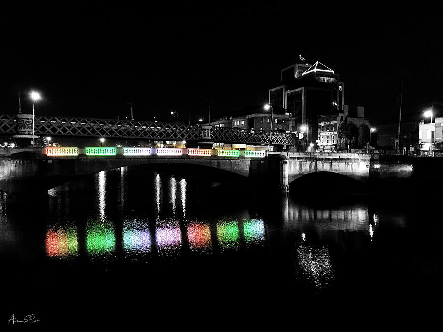 River Liffey Reflections by Andrea Platt