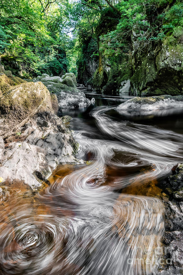Fairy Glen Photograph - River Of Dreams by Adrian Evans