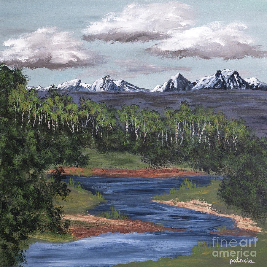 River of Life in the Valley by Patricia Gould