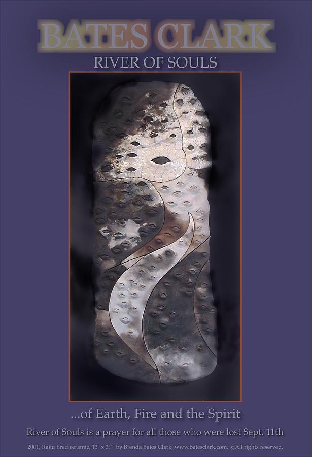 Digital Digital Art - River Of Souls by Bates Clark