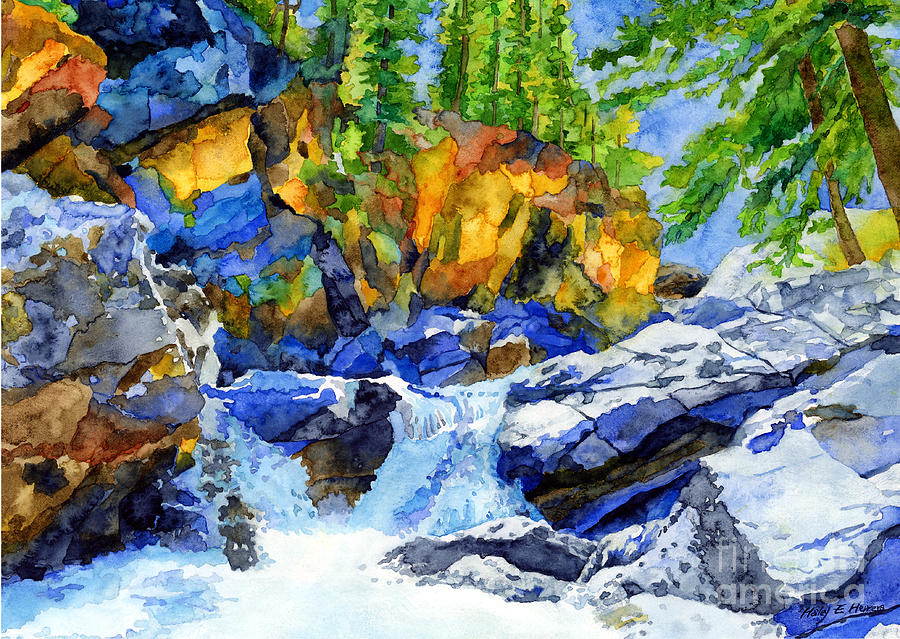 River Pool Painting