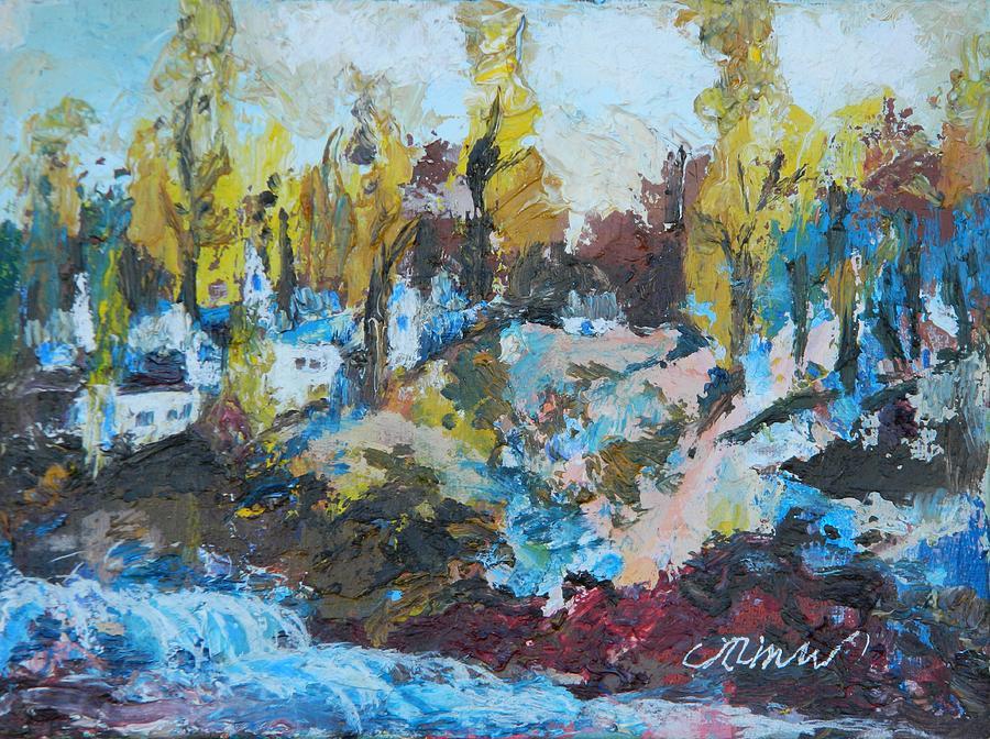 River Rapids by Min Wang