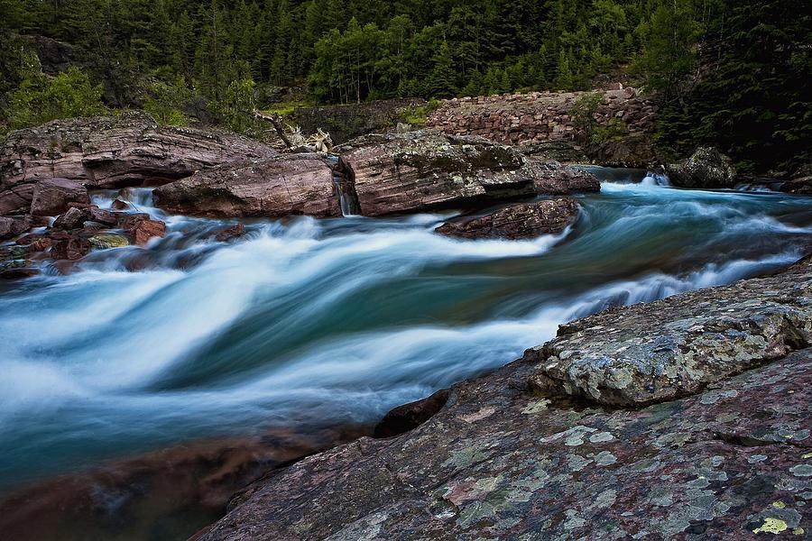 River Rocks Photograph