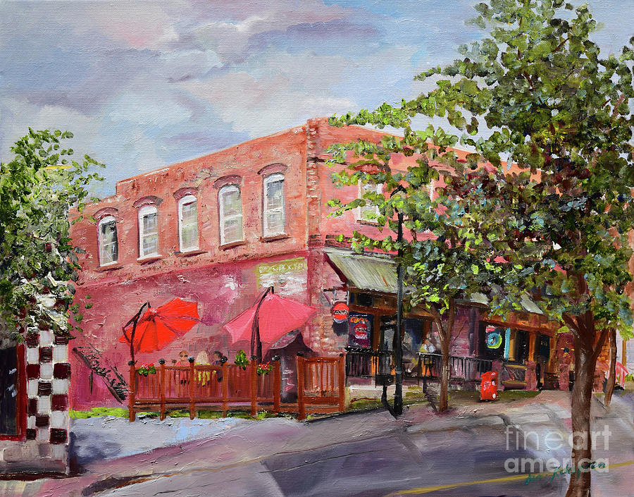 River Street Tavern-Ellijay, GA - Cheers by Jan Dappen
