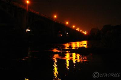 Bridge Photograph - River by Trevor Surges