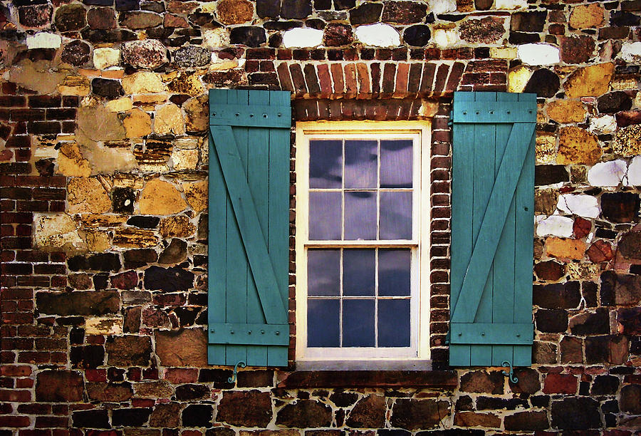 Window Photograph - Riverfront View by JAMART Photography