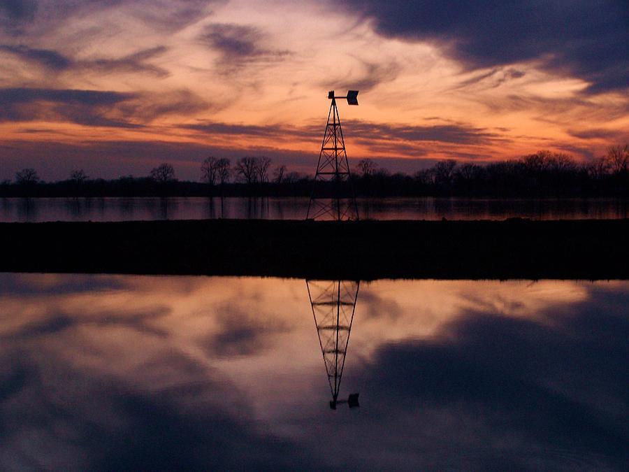 Landscape Photograph - Rivers Edge by Joseph Norvell