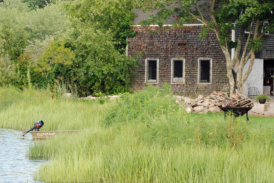 Marsh Photograph - Riverside by Mark Wiley