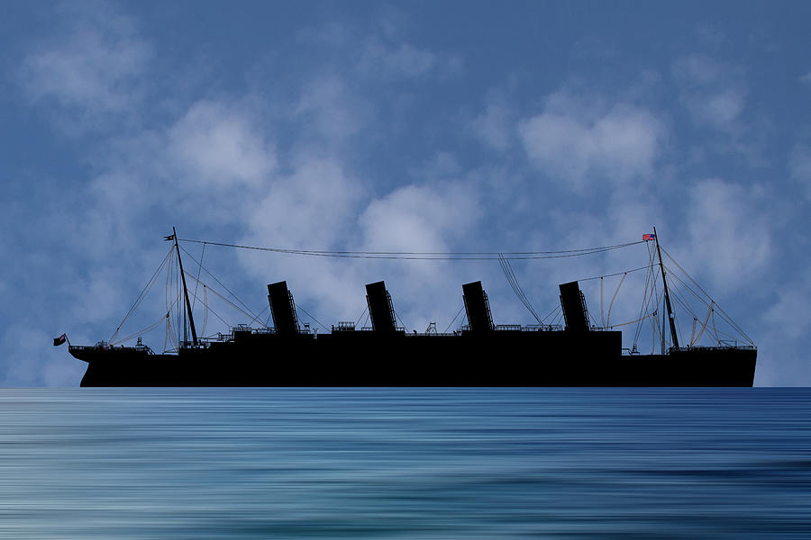 Rms Titanic Photograph - Rms Titantic V1 by Smart Aviation