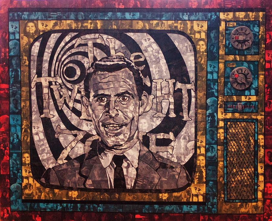 Rod Serling Painting - Rod Serling  by Brent Andrew Doty
