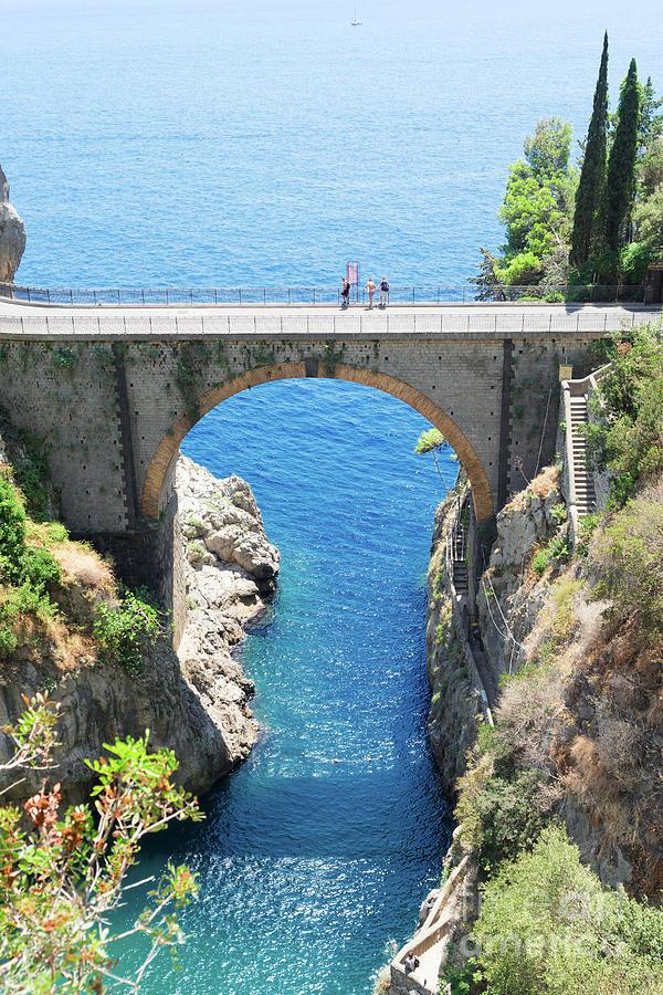 Road Of Amalfi Coast Photograph