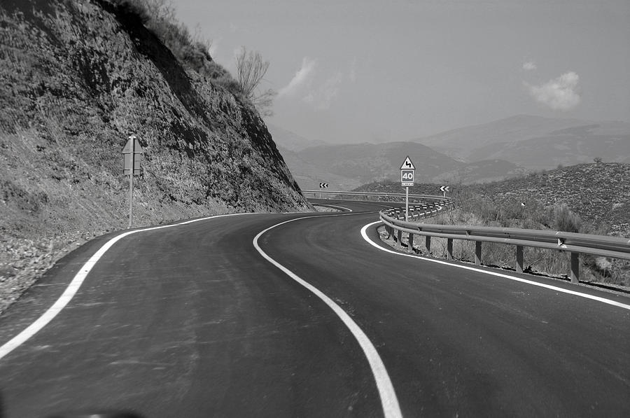 Photographer Photograph - Road Out by Jez C Self