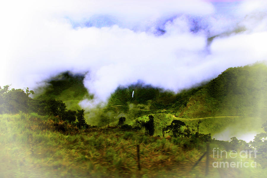 Road Photograph - Road Through The Andes by Al Bourassa