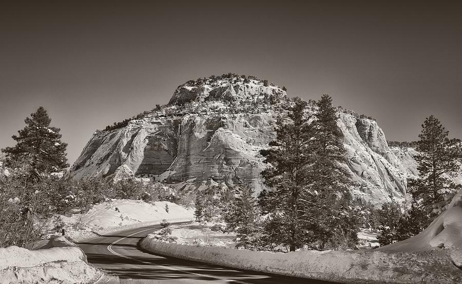 Road Through Zion by Geoff Coleman