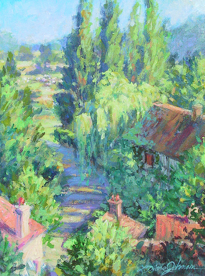 Road to Giverny by L Diane Johnson