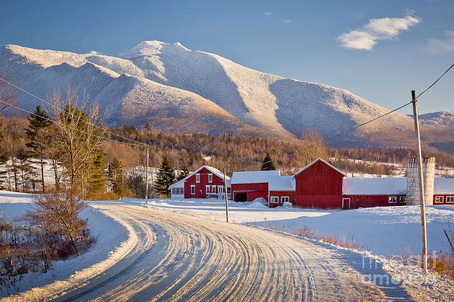 Agriculture Photograph - Road To Mount Mansfield by Susan Cole Kelly