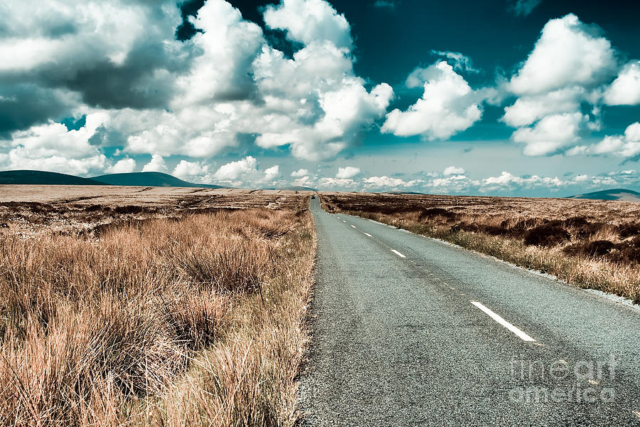 Road Photograph - Road To Nowhere by Gabriela Insuratelu