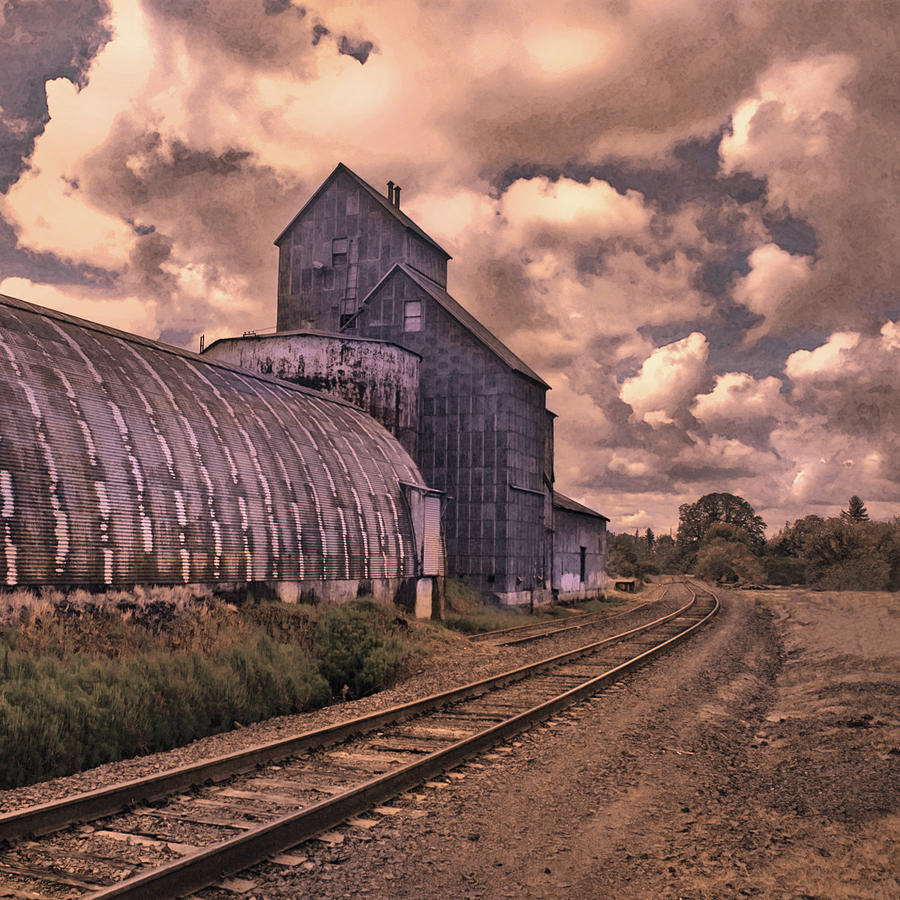 Trains Photograph - Road To Nowhere by Jeff Burgess