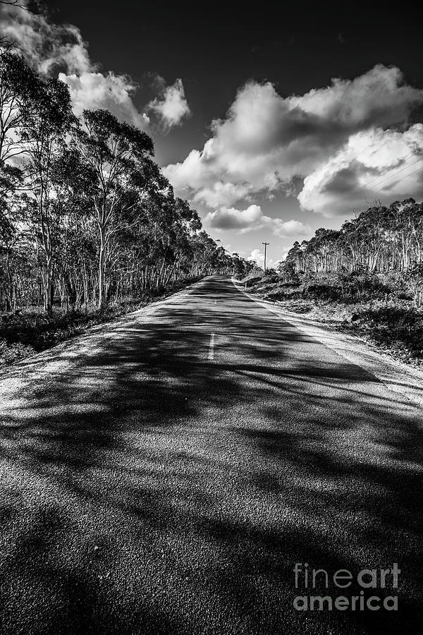 Road Photograph - Road To Rossarden by Jorgo Photography - Wall Art Gallery