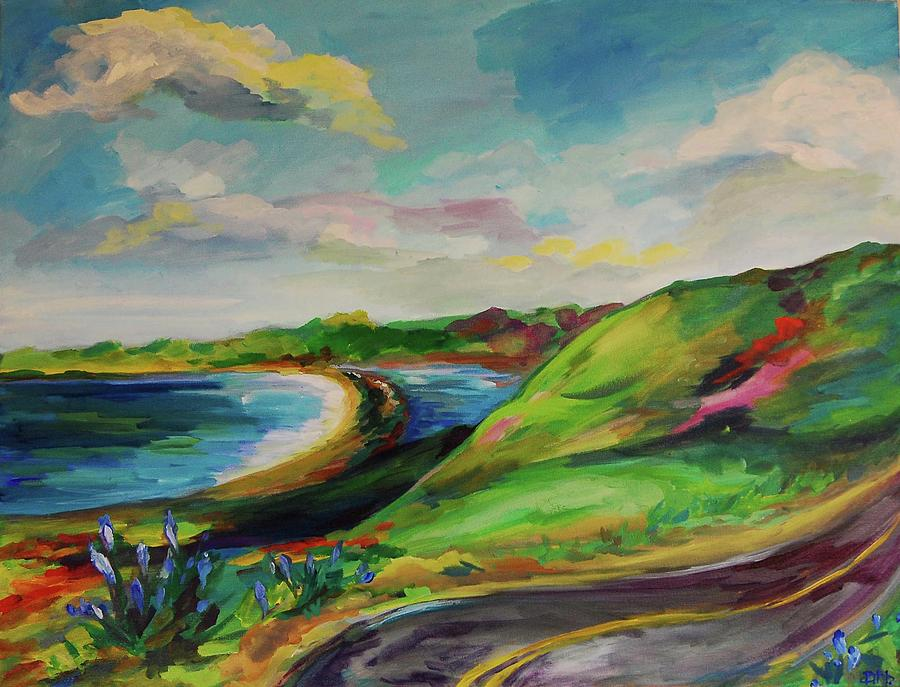 Stinson Painting - Road To Stinson by Danielle Hacker