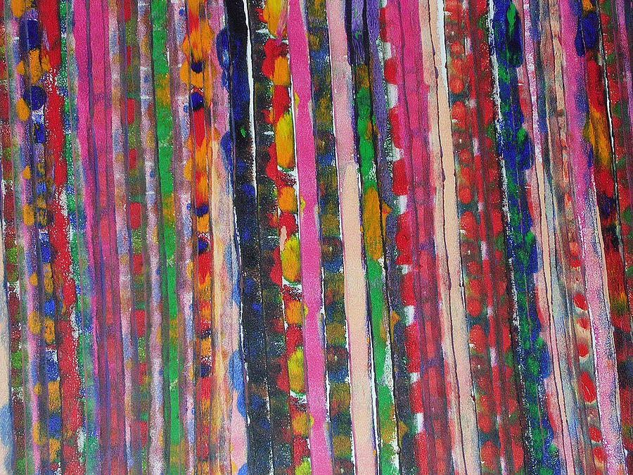 Abstract Painting - Roadmap I by Russell Simmons