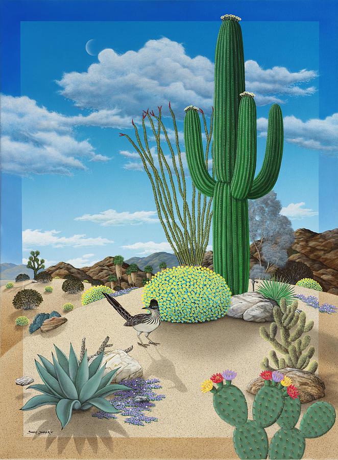 Roadrunner Painting - Roadrunner by Snake Jagger