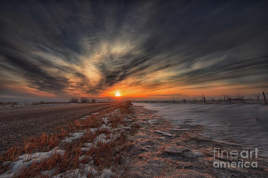 Canada Photograph - Roadside Awe by Ian McGregor