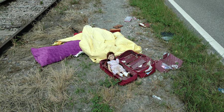 Roadside Doll by Steve Sperry