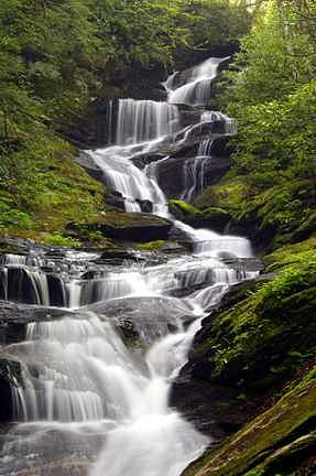 Waterfalls Photograph - Roaring Fork Falls by David Koll