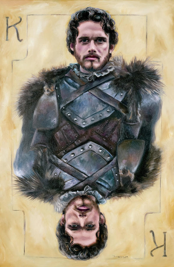Got Painting - Robb Stark by Denise H Cooperman
