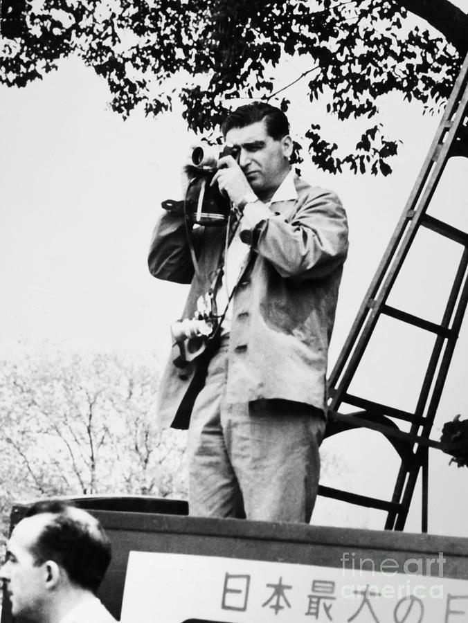 1954 Photograph - Robert Capa (1913-1954) by Granger