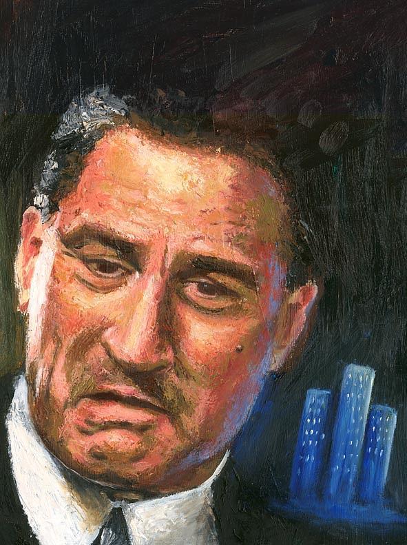 Portrait Painting - Robert De Niro by Debora Calicchia