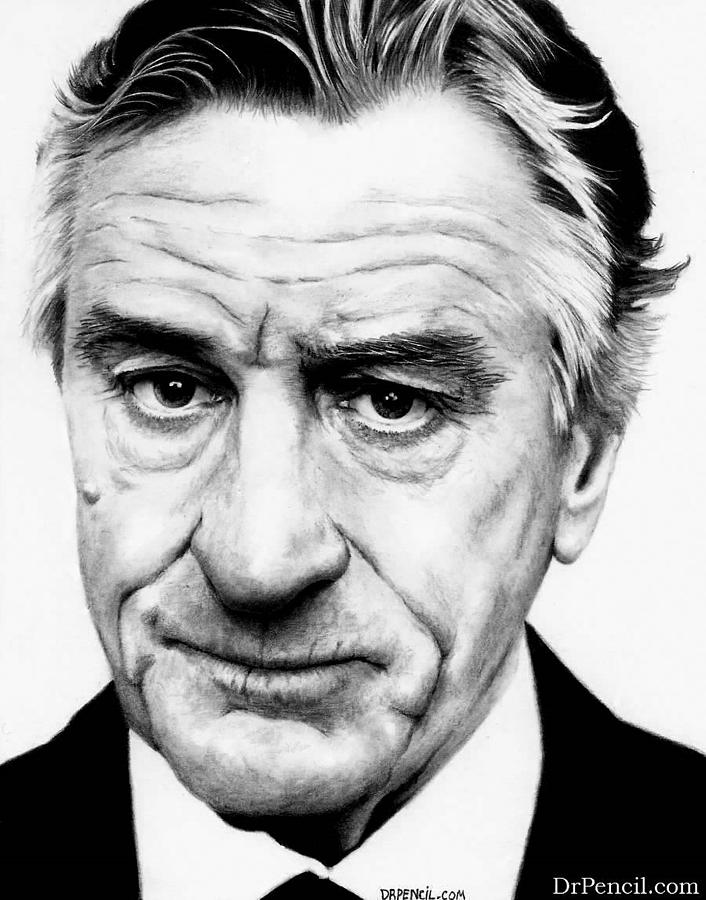 Robert Deniro Drawing - Robert Deniro  by Rick Fortson