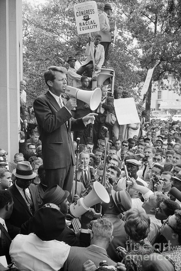 1963 Photograph - Robert F. Kennedy by Granger