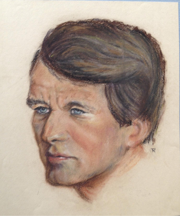 Portrait Painting - Robert Kennedy by Anthony Ross