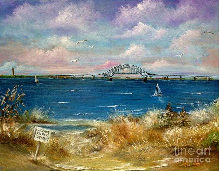 Robert Moses Bridge Painting By Patrice Torrillo