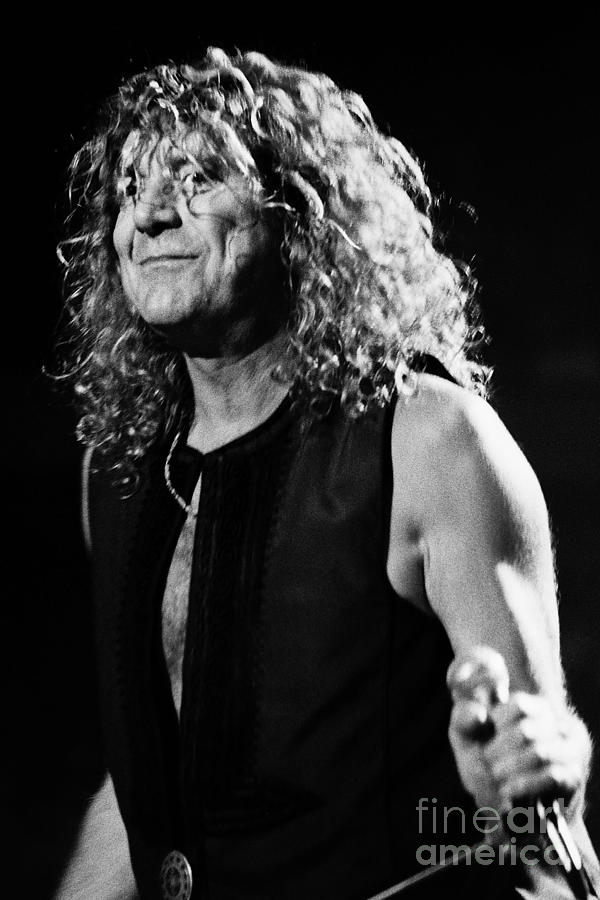 Robert Plant Photograph - Robert Plant-0039 by Timothy Bischoff