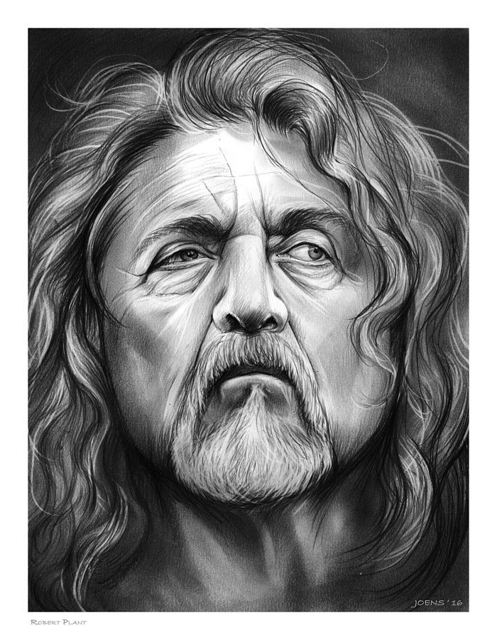 Robert Plant Drawing