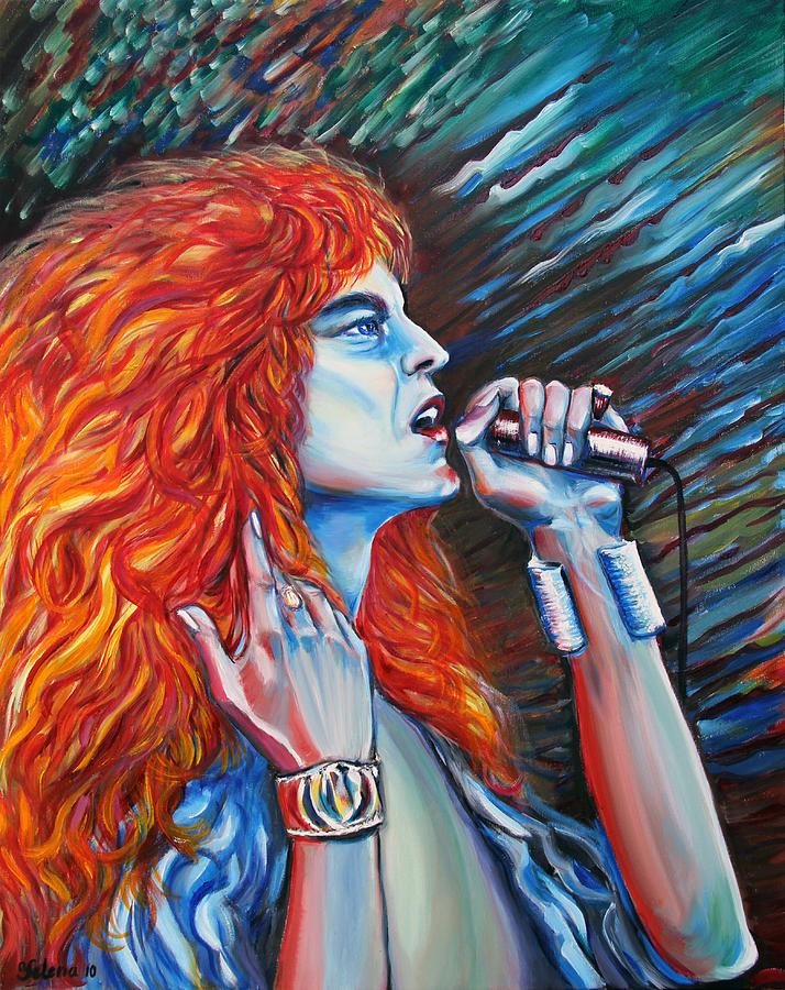 Song Painting - Robert Plant  by Yelena Rubin