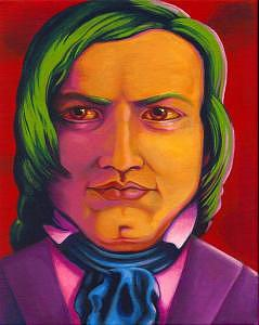 Robert Schumann Painting - Robert Schumann by Naomi Shadle