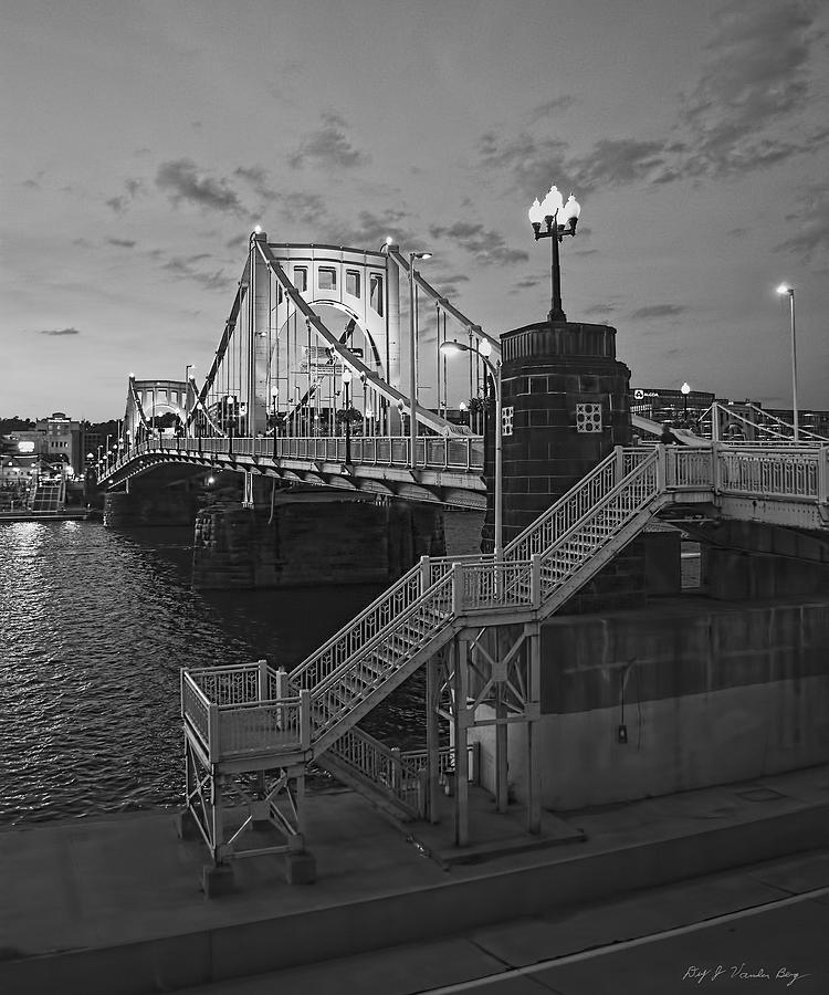 Pittsburgh Photograph - Roberto Clemente Bridge by Dirk VandenBerg