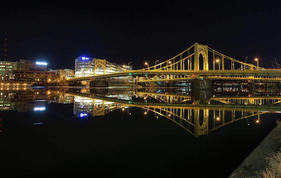 Roberto Clemente Bridge Photograph by Jimmy Taaffe