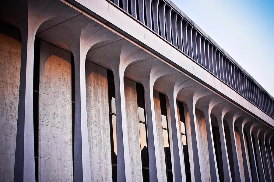 (c) 2010 Photograph - Robertson Hall At Princeton University by Ryan Kelly