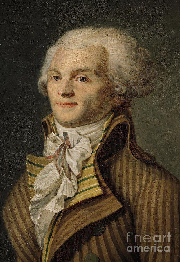 Robespierre Painting - Robespierre by French School