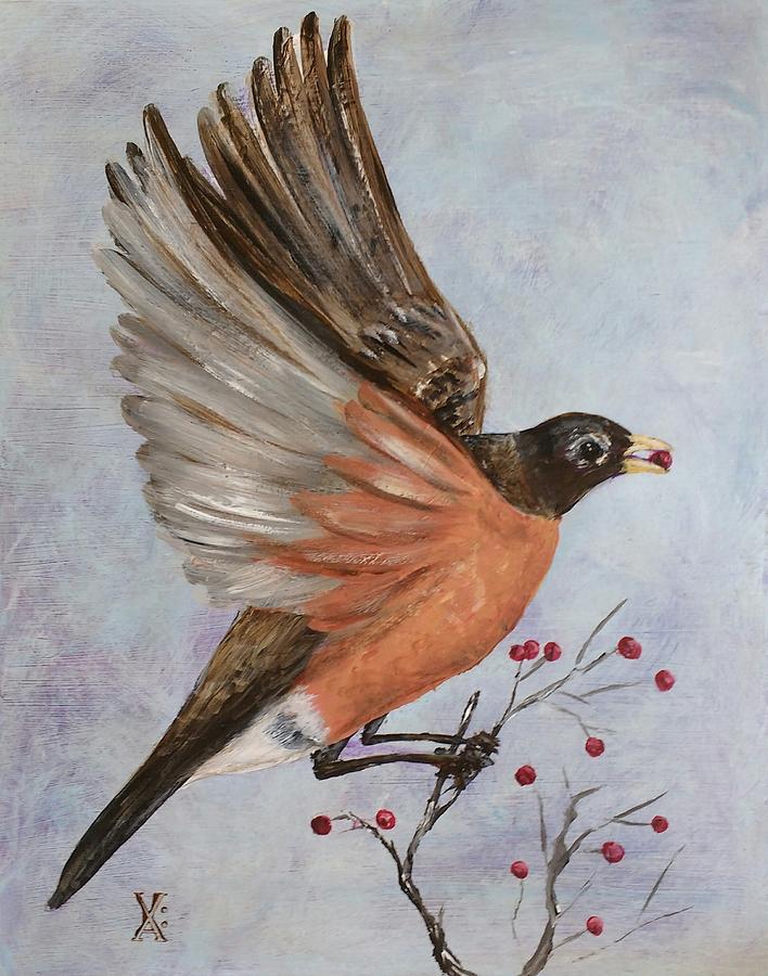 robin takes flight by Violet Jaffe