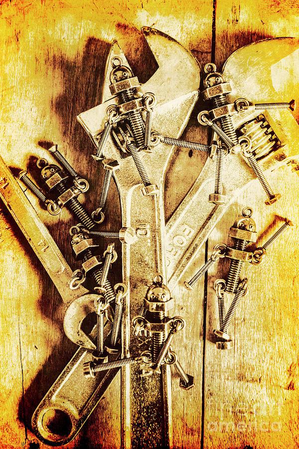 Mechanic Photograph - Robolts by Jorgo Photography - Wall Art Gallery