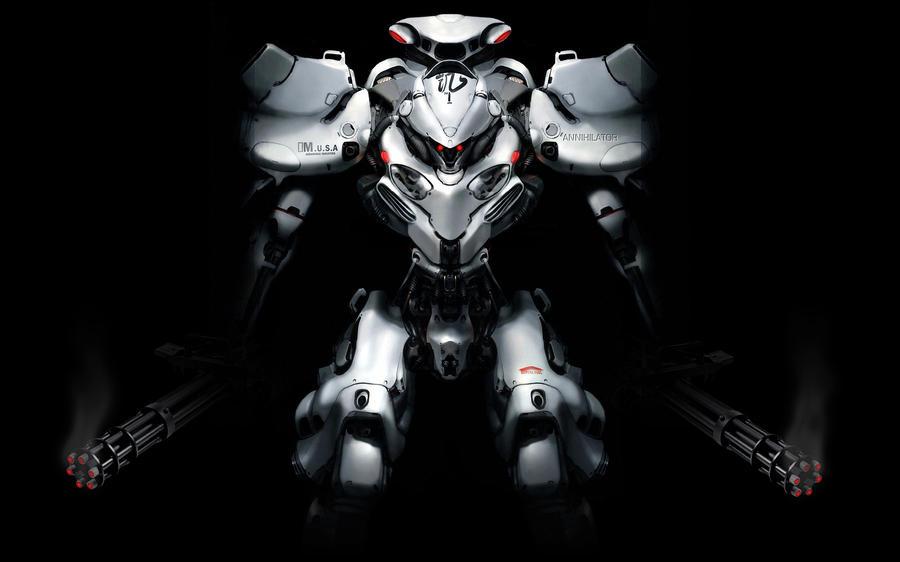 Robot Digital Art - Robot by Dorothy Binder