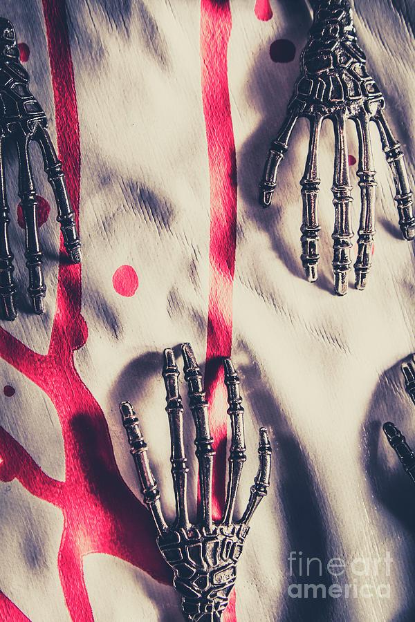 Horror Photograph - Robot Killing Machines by Jorgo Photography - Wall Art Gallery