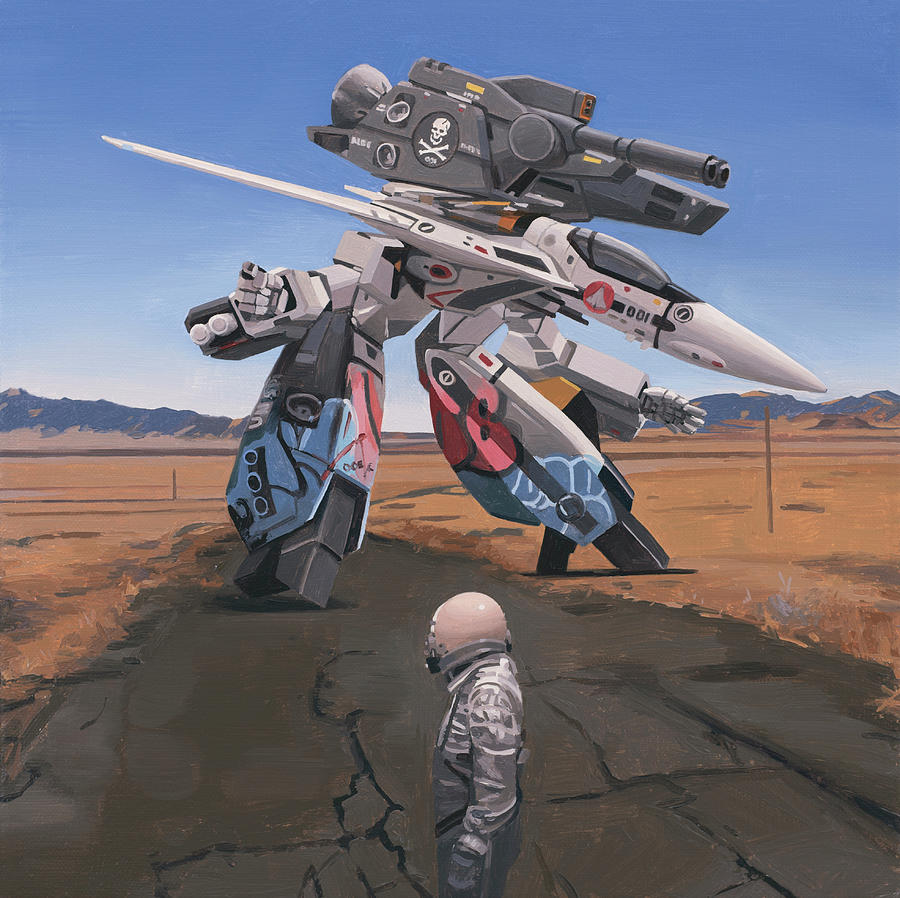 Robotech by Scott Listfield